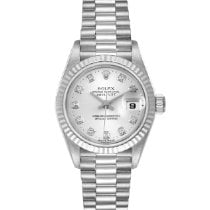 Rolex 79179 Or blanc 1999 Lady-Datejust 26mm occasion