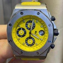 Audemars Piguet Royal Oak Offshore Chronograph Сталь 42mm Желтый Без цифр