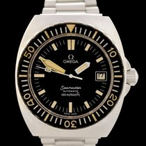 Omega Seamaster PloProf Acero 40mm Negro Sin cifras