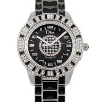 Dior Christal Сталь 42mm Черный