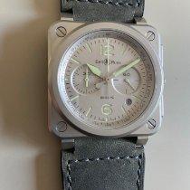 Bell & Ross BR 03-94 Chronographe Steel 42mm Grey Arabic numerals