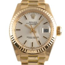 Rolex Lady-Datejust Желтое золото 26mm Cеребро