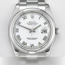 Rolex Lady-Datejust Stahl 36mm Weiß Römisch Deutschland, München