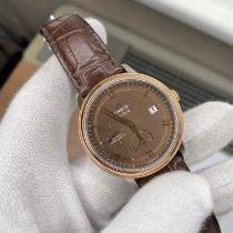 Omega De Ville Prestige Or/Acier 39.5mm Brun Romains