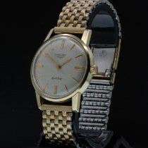Longines Gold/Steel 33.8mm Manual winding pre-owned Thailand, Ban Chang