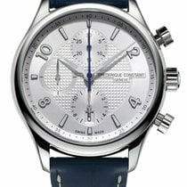 Frederique Constant Runabout Chronograph Steel 42mm Silver Arabic numerals United States of America, New York, Monsey