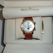 Jaeger-LeCoultre Red gold Automatic Silver No numerals 41.5mm pre-owned Master Memovox