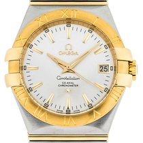 Omega Constellation Ladies new Automatic Watch with original box 123.20.35.20.02.002
