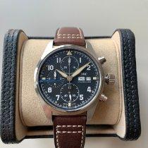 IWC Fliegeruhr Spitfire Chronograph neu 2021 Automatik Chronograph Uhr mit Original-Box und Original-Papieren IW387903