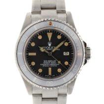 Rolex Sea-Dweller Zeljezo 40mm Crn Bez brojeva