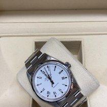 Rolex Air King Precision Steel 34mm White No numerals