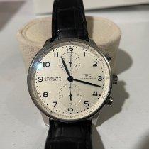 IWC Portuguese Chronograph IW371446 Good Steel Automatic Australia, Sydney