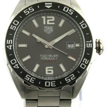TAG Heuer Formula 1 Calibre 5 pre-owned 43mm Date Steel