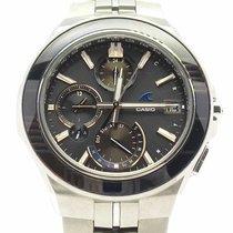 Casio Oceanus Титан 40mm Черный