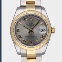 Rolex Lady-Datejust Or/Acier 31mm Gris