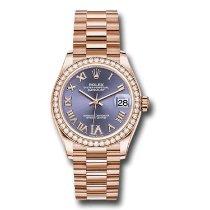 Rolex Rose gold Automatic Purple 31mm new Datejust