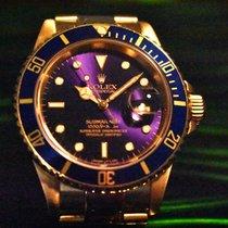 Rolex Submariner Date Oro amarillo 40mm Violeta Sin cifras España, Barcelona