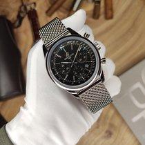 Breitling Transocean Chronograph Сталь 43mm Черный Россия, Saint-Petersburg