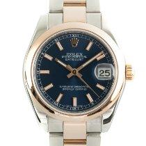 Rolex Lady-Datejust Gold/Steel 31mm Blue