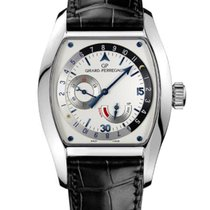 Girard Perregaux Steel Automatic Silver 37mm pre-owned Richeville