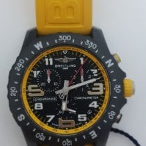 Breitling Endurance Pro pre-owned 44mm Black Chronograph Date Rubber