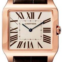 Cartier Cеребро 44.6mm новые Santos Dumont