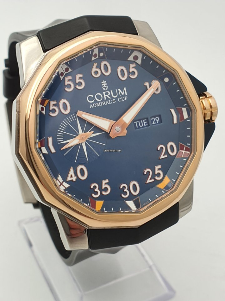Corum Admiral's Cup (submodel) 01.0002 pre-owned