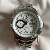 TAG Heuer Link Calibre 16 Steel 43mm White United States of America, Wisconsin, Hartland