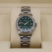 Rolex Oyster Perpetual 31 Steel 31mm Green No numerals United States of America, New York, NEW YORK