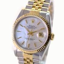 Rolex Datejust Gold/Steel 36mm White No numerals United States of America, California, Sherman Oaks