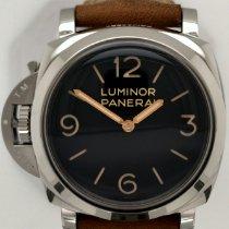 Panerai Luminor 1950 pre-owned 47mm Black Leather