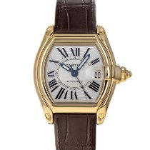 Cartier Roadster Yellow gold 37mm Silver Roman numerals United States of America, Maryland, Baltimore, MD