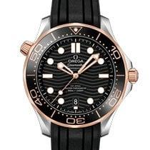 Omega Seamaster Diver 300 M Gold/Steel 42mm Black No numerals United States of America, Pennsylvania, Philadelphia