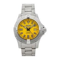 Breitling Avenger Seawolf Steel 45mm Yellow No numerals United States of America, Pennsylvania, Bala Cynwyd