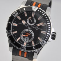 Ulysse Nardin Diver Chronometer Steel 44mm Black No numerals United States of America, Ohio, Mason