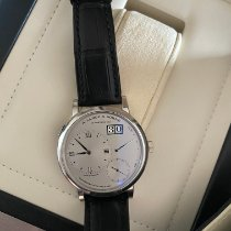 A. Lange & Söhne Platinum Manual winding Silver Roman numerals 40.5mm new Grand Lange 1