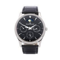 Jaeger-LeCoultre Master Ultra Thin Perpetual pre-owned 39mm Black Crocodile skin