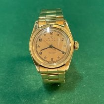 Rolex Yellow gold 1950 Oyster Precision 29mm pre-owned