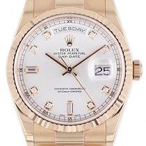 Rolex Day-Date 36 Oro rosa 36mm Argento Italia, Chieri (TO)