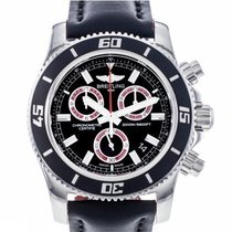 Breitling Superocean Chronograph M2000 occasion 45mm Chronographe Date Cuir