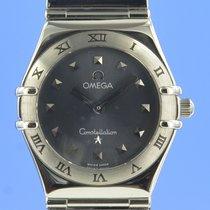 Omega Constellation Ladies Steel 25.5mm Grey