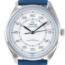 Omega Seamaster Planet Ocean новые 2020 Автоподзавод Часы с оригинальными документами 522.32.40.20.04.001