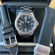 Sinn 556 Steel 38,5mm Black Arabic numerals