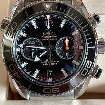 Omega Seamaster Planet Ocean Chronograph Steel 45.5mm Black