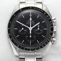 Omega Speedmaster Professional Moonwatch gebraucht 42mm Schwarz Chronograph Tachymeter Stahl