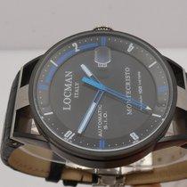 Locman Montecristo Titanium 45mm Blue Arabic numerals