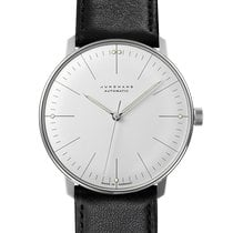 Junghans max bill Automatic Steel 38mm Silver No numerals