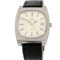 Omega Genève Steel 36mm Silver No numerals