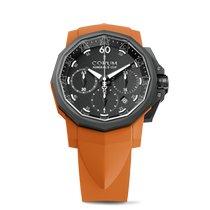 Corum Admiral's Cup Challenger nuevo Automático Reloj con estuche y documentos originales 753.814.02/F374 AN21