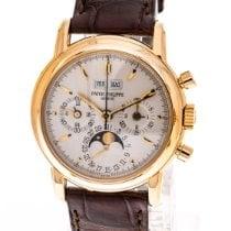 Patek Philippe Perpetual Calendar Chronograph Pозовое золото 36mm Белый